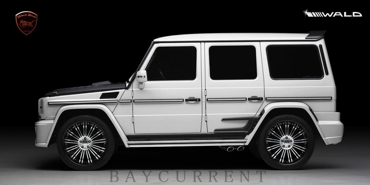【WALD BlackBison Edtion】 Mercedes-Benz W463 ゲレンデ FRP製 エアロ ボンネット ブラックバイソン ベンツ ヴァルド Gクラス_画像10