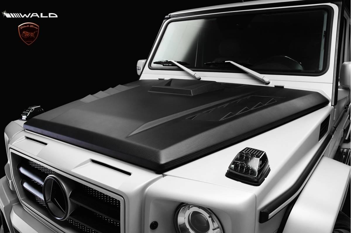 【WALD BlackBison Edtion】 Mercedes-Benz W463 ゲレンデ FRP製 エアロ ボンネット ブラックバイソン ベンツ ヴァルド Gクラス_安心の正規品