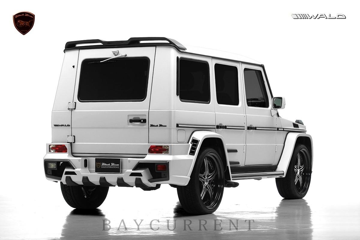 【WALD BlackBison Edtion】 Mercedes-Benz W463 ゲレンデ FRP製 エアロ ボンネット ブラックバイソン ベンツ ヴァルド Gクラス_画像8