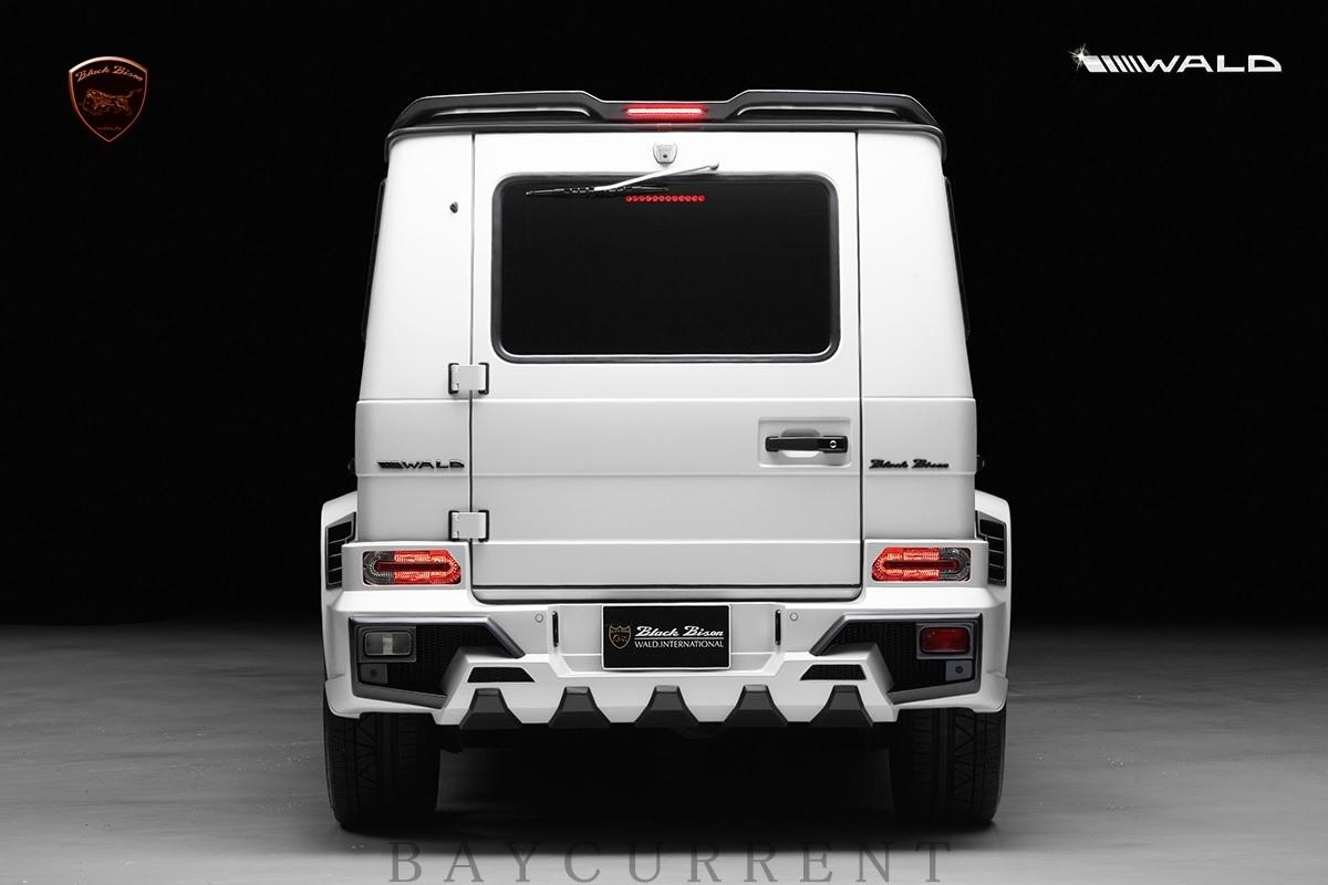 【WALD BlackBison Edtion】 Mercedes-Benz W463 ゲレンデ FRP製 エアロ ボンネット ブラックバイソン ベンツ ヴァルド Gクラス_画像9