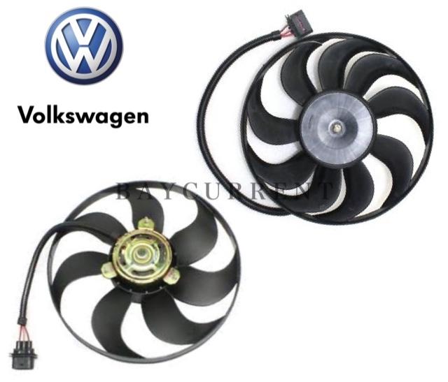 【正規純正OEM】 VW ラジエター 電動ファン 2個SET ニュービートル ルポ ポロ ボーラ ゴルフ4 6X0959455C 1C0959455C アディショナルファン_安心の正規純正OEM