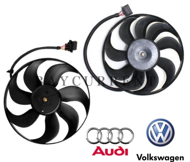 【正規純正OEM】 VW ラジエター 電動ファン SET ニュービートル ポロ ボーラ ゴルフ4 ルポ 6X0959455F 1C0959455C アディショナルファン_安心の正規純正OEM