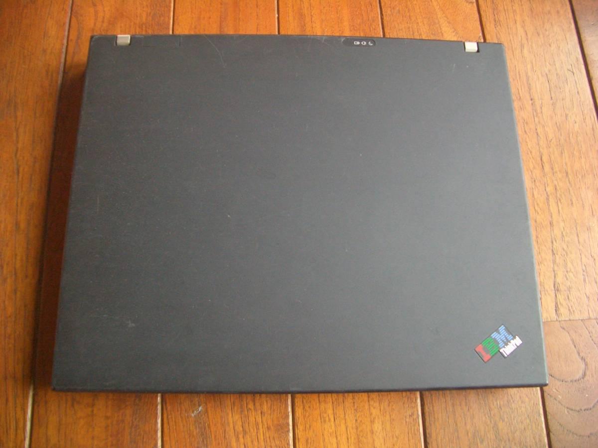 【ジャンク】 Lenovo ThinkPad T60p (2007-93J)_画像2