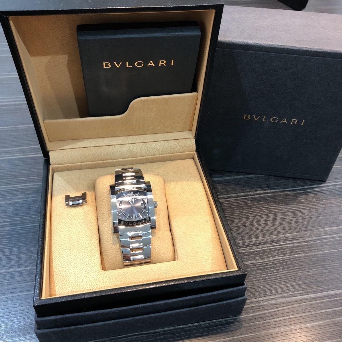 仕上げ済み 極美品 ブルガリ アショーマ AA39S BVLGARI 腕時計 レディース_画像2