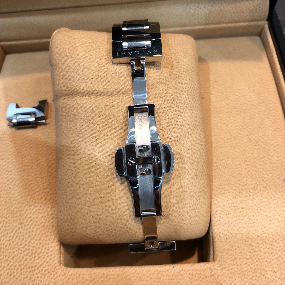 仕上げ済み 極美品 ブルガリ アショーマ AA39S BVLGARI 腕時計 レディース_画像4