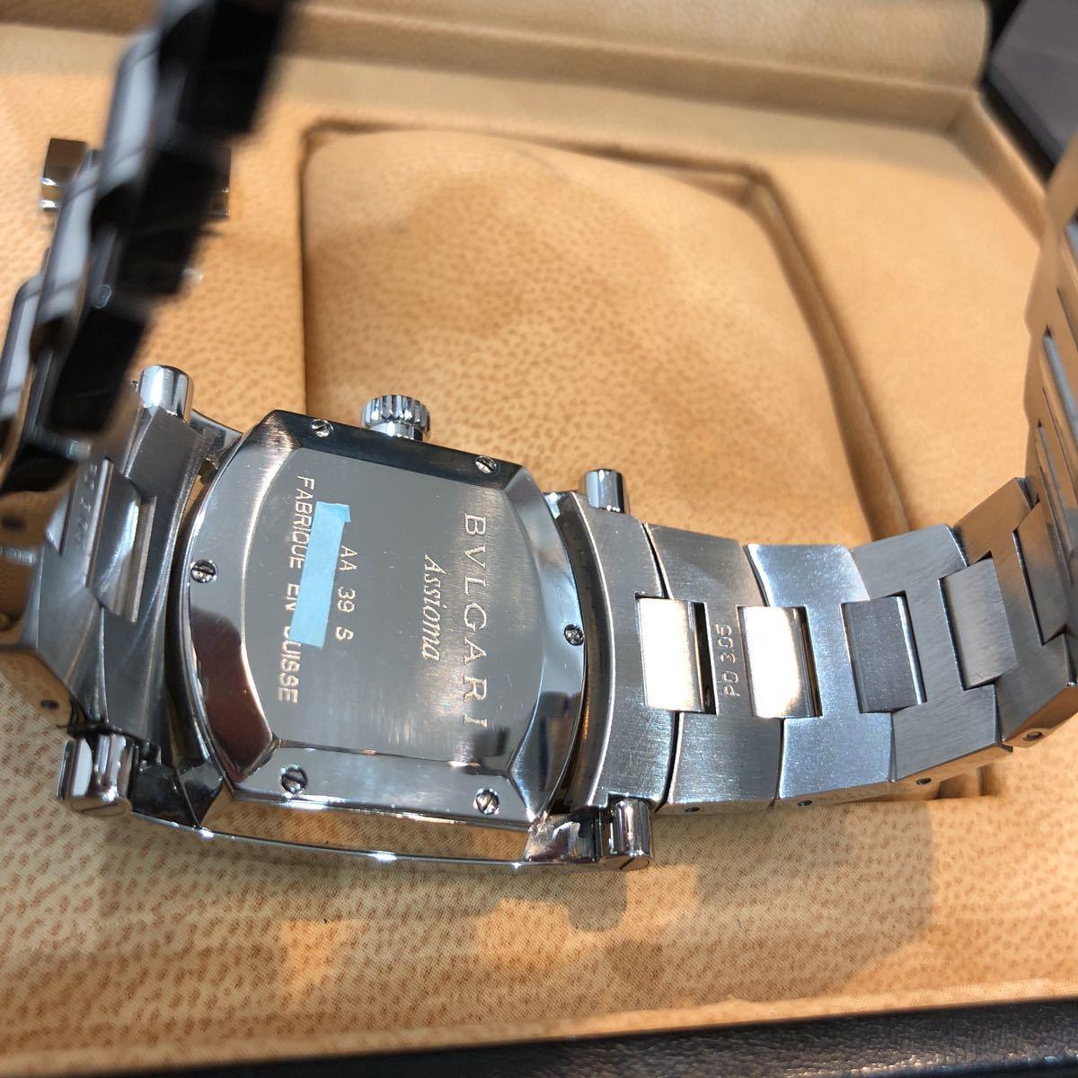 仕上げ済み 極美品 ブルガリ アショーマ AA39S BVLGARI 腕時計 レディース_画像10