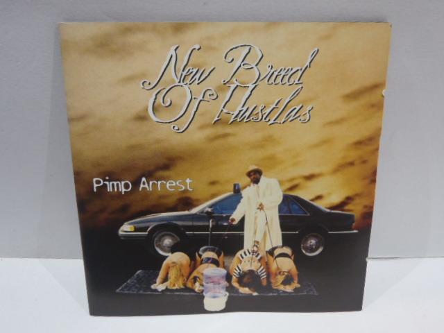 貴重盤 CD New Breed of Hustlas Pimp Arrest Gangsta G-RAP Hip Hop_画像4