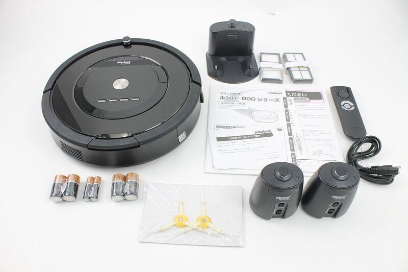 元箱付き★超美品★iRobot Roomba 885 J ルンバ ロボット掃除機