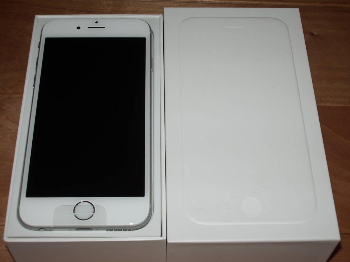 美品中古 au iPhone6 128GB シルバー