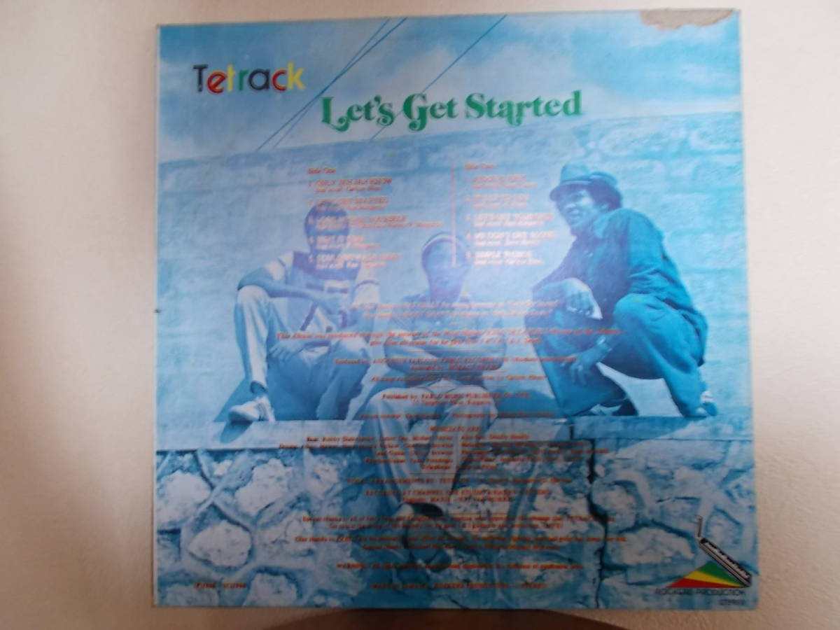 TETRACK  /  LET・S GET STARTED  /  ROCKERS PRODUCTION_画像2