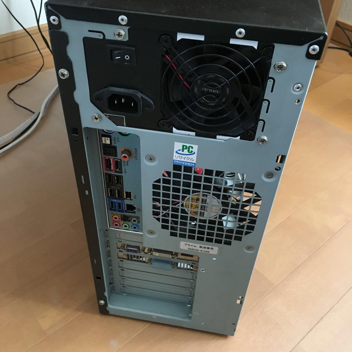 ゲーミング プライム Galleria /Win10/i7 3.07GHz 8コア/HDD1TB/メモリ8G/NVIDIA GeForce GTX460/電源1000w_画像3