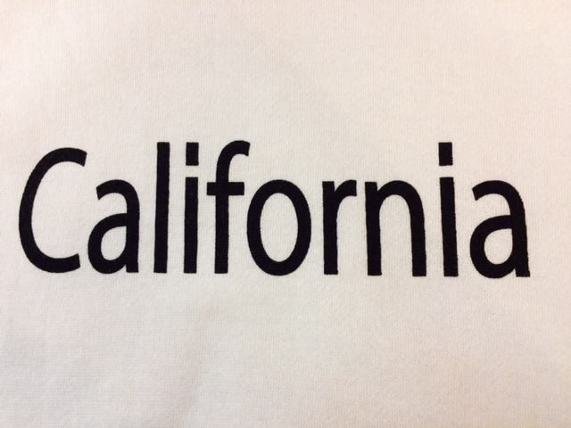 ★表記S/新品!CALIFORNIA.カリフォルニアプリント.ZIP FIVE.スウェット.白.サーフサーファー.西海岸アメカジスタイル.配色◎.サファリ/Y_画像6