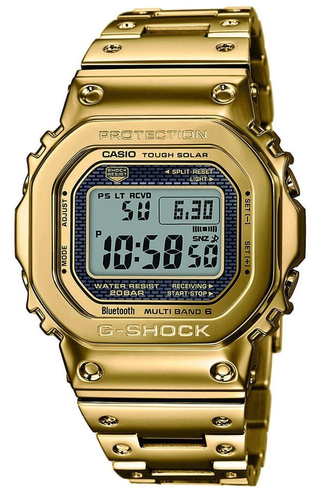 GMW-B5000TFG-9JR フルメタル GOLD ゴールド 35周年記念 Bluetooth搭載 電波ソーラー G-SHOCK 新品 日本正規品 限定品