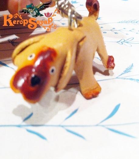 革製 ワンコキーホルダーS-NT レザークラフト ハンドメイド手作り 皮 犬いぬイヌDog アニマル動物 ブサカワ癒し系♪_画像7