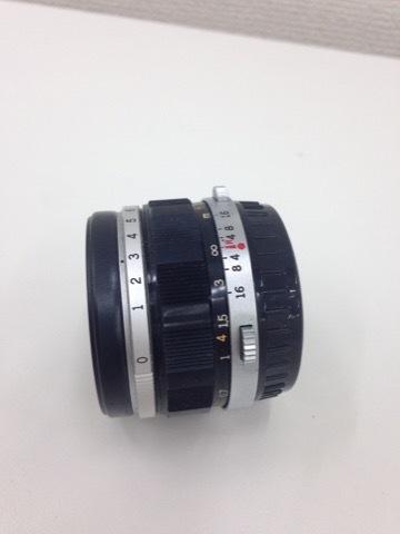 4627 カメラ★オリンパスペン OLYMPUS-PEN F PEN-FT シルバー +レンズ3本 他 シールド等 美品_画像8