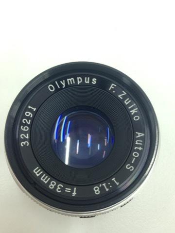 4627 カメラ★オリンパスペン OLYMPUS-PEN F PEN-FT シルバー +レンズ3本 他 シールド等 美品_画像9