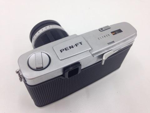 4627 カメラ★オリンパスペン OLYMPUS-PEN F PEN-FT シルバー +レンズ3本 他 シールド等 美品_画像5