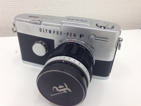 4627 カメラ★オリンパスペン OLYMPUS-PEN F PEN-FT シルバー +レンズ3本 他 シールド等 美品_画像3