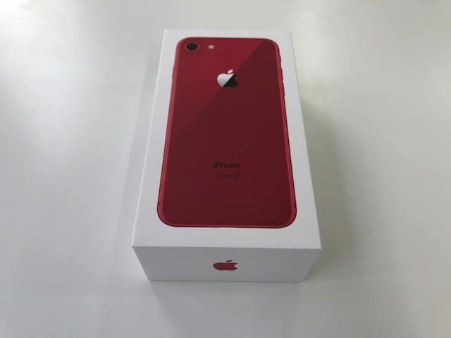 新品未使用 iPhone8 RED 256G SIMフリーレッド