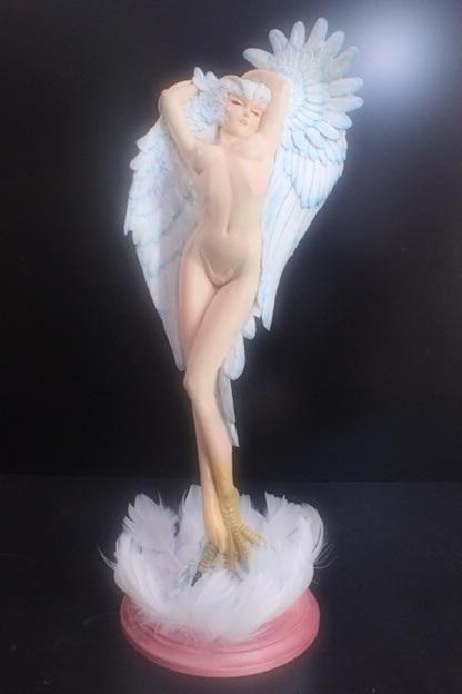 オリジナル台座完成品 シレーヌ 舞 光と闇 「光」 デビルマン ガレージキット SILENE ボークス_画像4