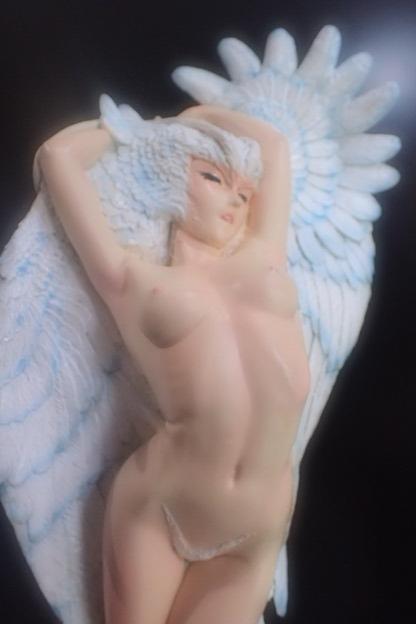 オリジナル台座完成品 シレーヌ 舞 光と闇 「光」 デビルマン ガレージキット SILENE ボークス_画像5