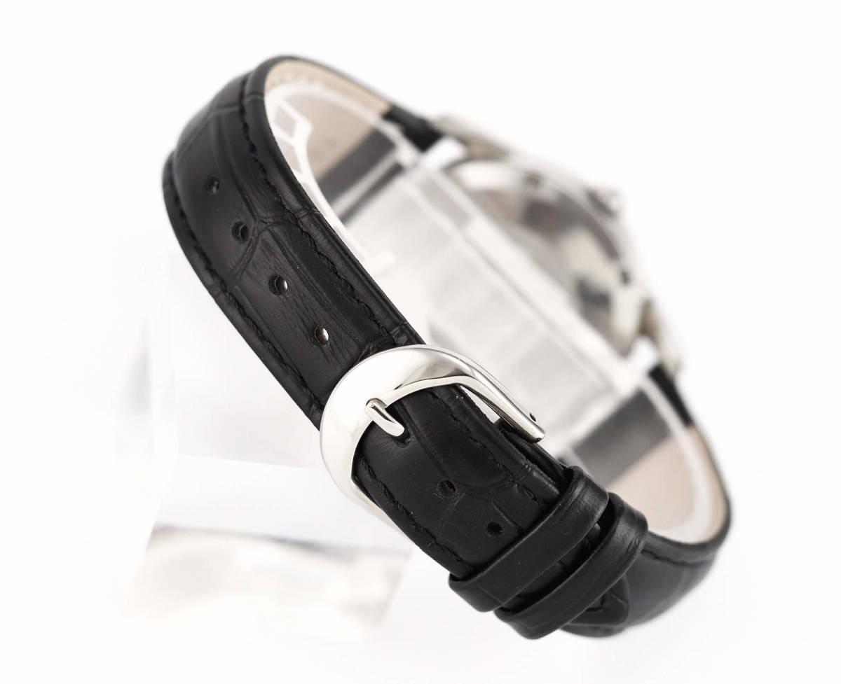 オメガ シーマスター Cal.562 自動巻き ブラック メンズ腕時計 OMEGA Seamaster AUTOMATIC 黒文字盤 オートマチック 動作確認済み_画像6