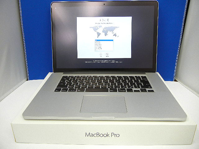 10179 Apple MacBook Pro11.4 Retina.15-inch.Mid2015 MJLQ2J/A マックブックプロ アップ
