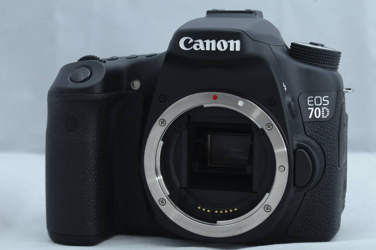 【極上美品】CANON キャノン EOS 70D ボディ 動作確認済み Wi-Fi対応 高性能デジタル一眼レフカメラ 動画撮影可能!
