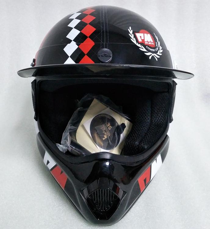 アメリカ プロモデル pm オフロード バイク フルフェイス ヘルメット m サイズ カーボン 新品 在庫 格安 期間 限定 セール 処分 即日_画像3