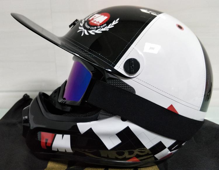アメリカ プロモデル pm オフロード バイク フルフェイス ヘルメット m サイズ カーボン 新品 在庫 格安 期間 限定 セール 処分 即日_画像9