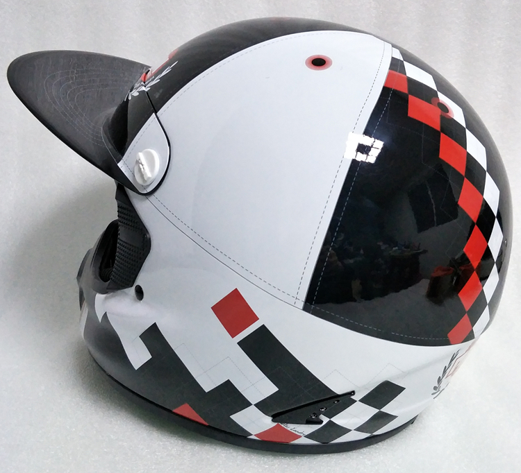 アメリカ プロモデル pm オフロード バイク フルフェイス ヘルメット m サイズ カーボン 新品 在庫 格安 期間 限定 セール 処分 即日_画像8
