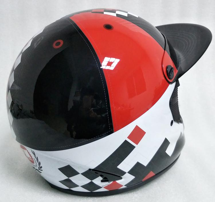 アメリカ プロモデル pm オフロード バイク フルフェイス ヘルメット m サイズ カーボン 新品 在庫 格安 期間 限定 セール 処分 即日_画像7