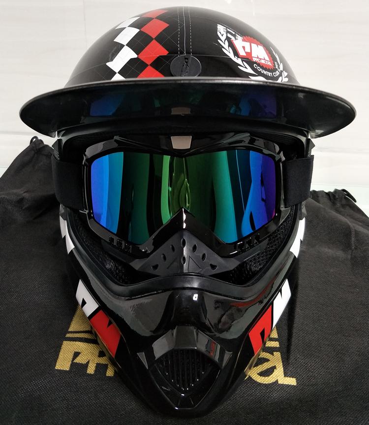 アメリカ プロモデル pm オフロード バイク フルフェイス ヘルメット m サイズ カーボン 新品 在庫 格安 期間 限定 セール 処分 即日_画像4