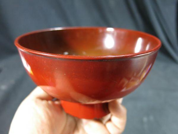 元和二年(1616年) 根来椀 漆器 漆工 蒔絵 食器 飲食器 膳 飯椀_画像9