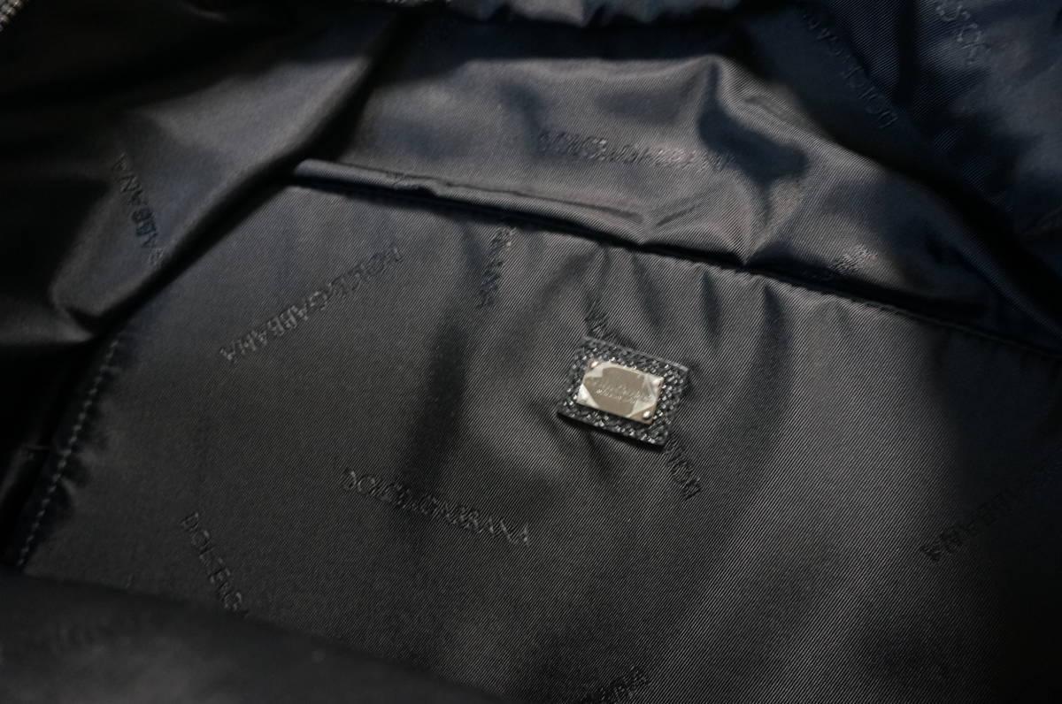 定価18万 新品 Dolce&Gabbana ドルチェ&ガッバーナ リュック バックパック パッチワークデザイン バッグ ショルダー 鞄 ドルガバ 黒トート_画像9