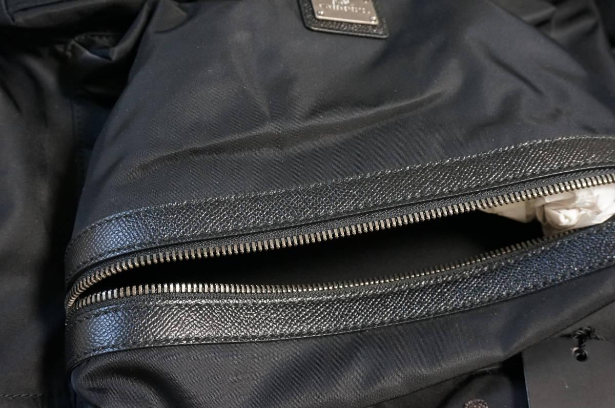 定価18万 新品 Dolce&Gabbana ドルチェ&ガッバーナ リュック バックパック パッチワークデザイン バッグ ショルダー 鞄 ドルガバ 黒トート_画像8