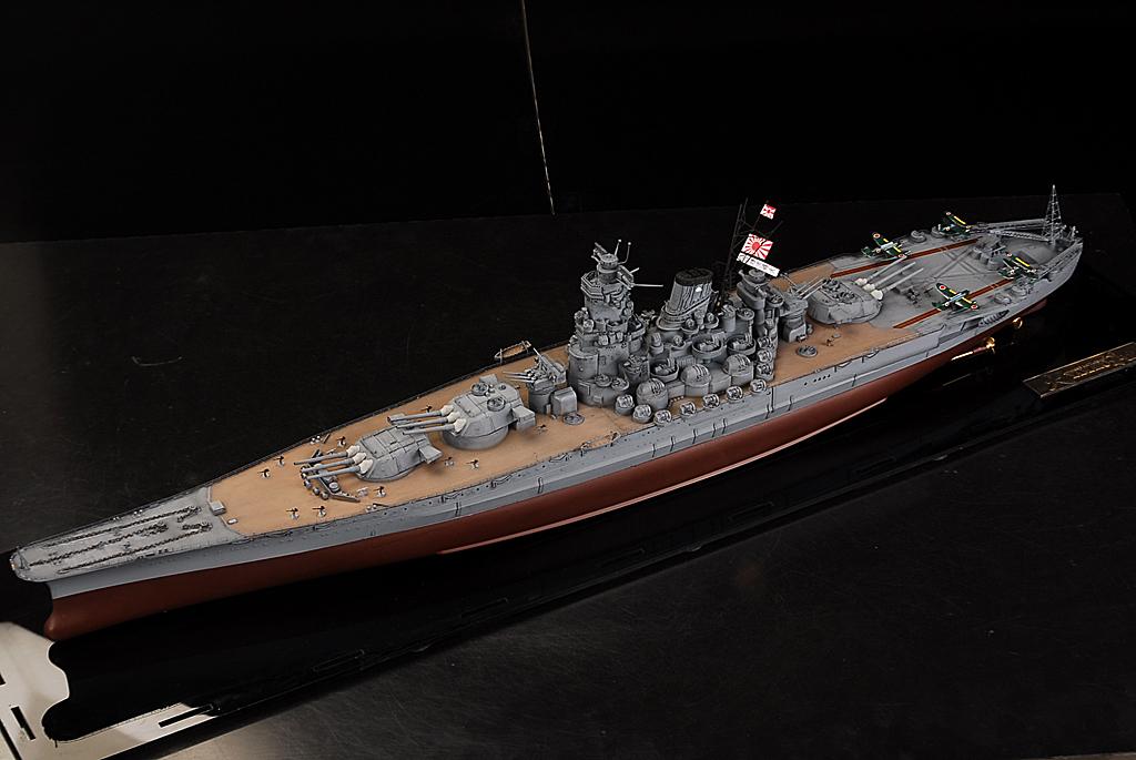 士魂1/350帝国海軍戦艦 大和 完成品A384