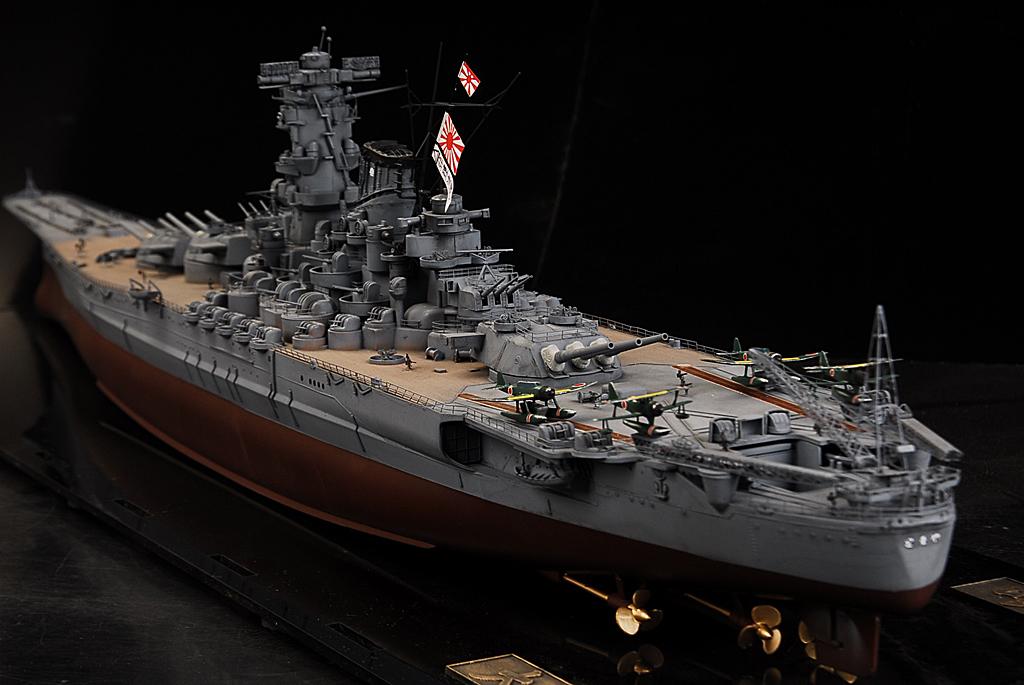 士魂1/350帝国海軍戦艦 大和 完成品A384_画像2