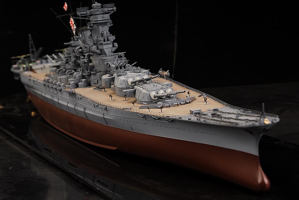 士魂1/350帝国海軍戦艦 大和 完成品A384_画像3