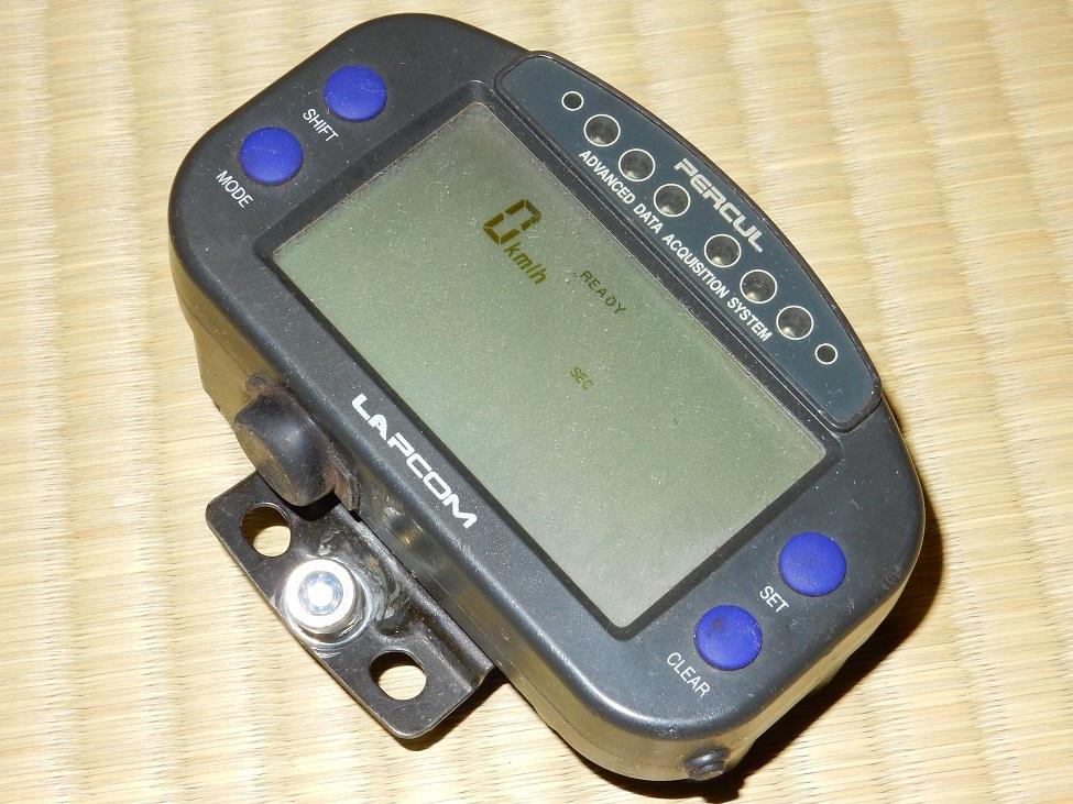 [動作確認済] Percul LAPCOM VX-2000 Lite-10All ラップタイマー 計測器 ジャンク