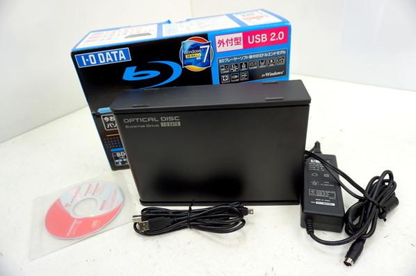 ★外付型/ブルーレイディスクドライブ[BRD-UH8LE]USB2.0/BD-R 8倍速/DVD±R 16倍/現状