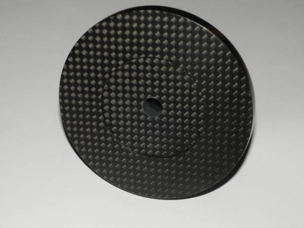 手工品 金属&ドライカーボン製 スタビライザー(表面:真鍮鏡面仕上)_画像2