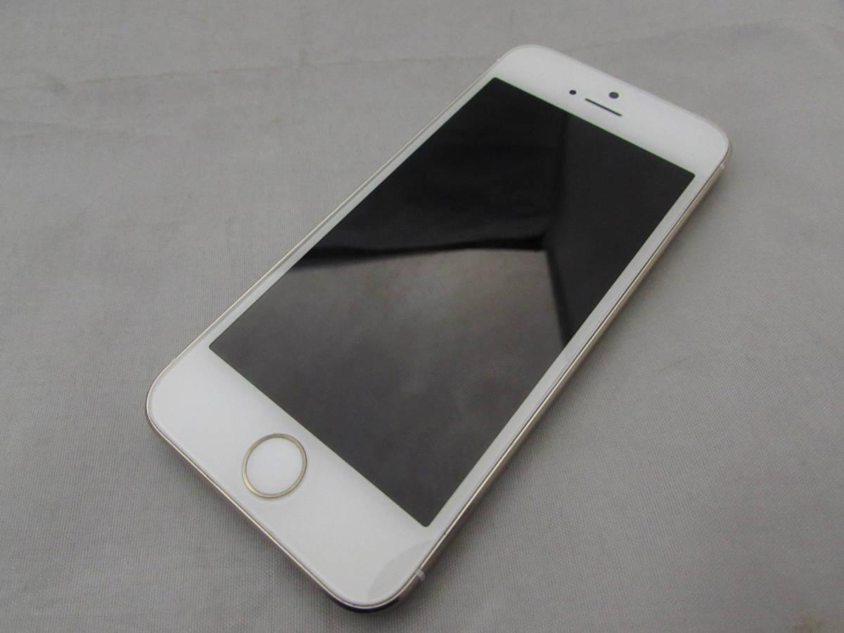 【美品!!】iPhone 5S 16GB ゴールド A1453 docomo●箱付き ドコモ