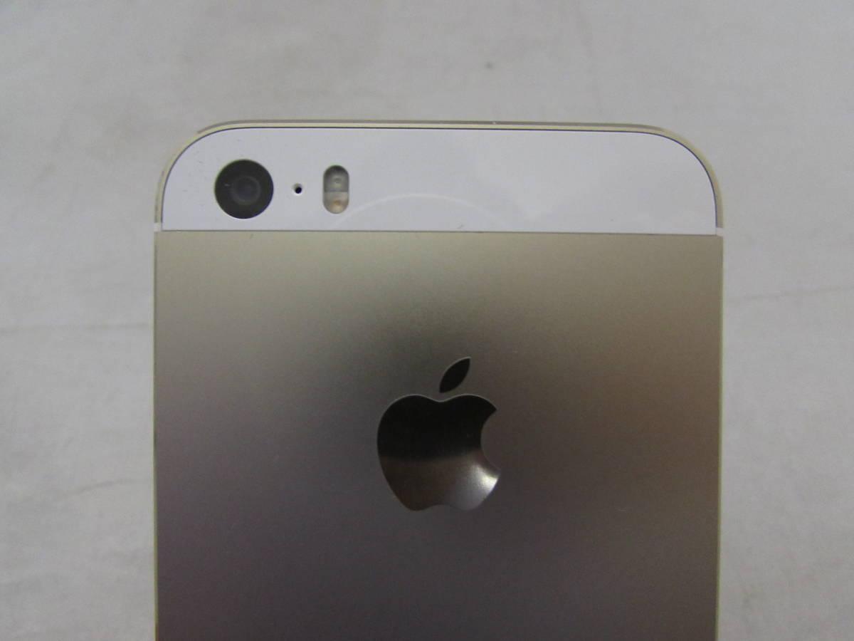 【美品!!】iPhone 5S 16GB ゴールド A1453 docomo●箱付き ドコモ_画像3