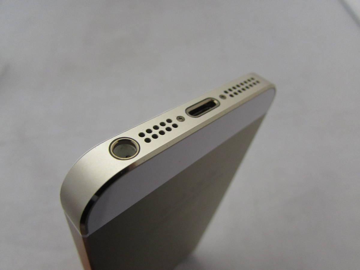 【美品!!】iPhone 5S 16GB ゴールド A1453 docomo●箱付き ドコモ_画像4