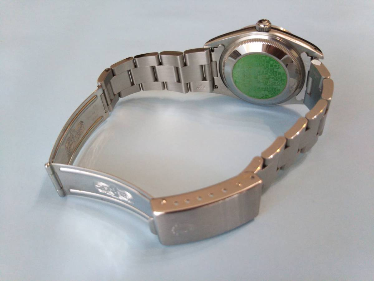 ☆ ROLEX OYSTER PERPETUAL DATE ☆ 形式15200 中古_画像4
