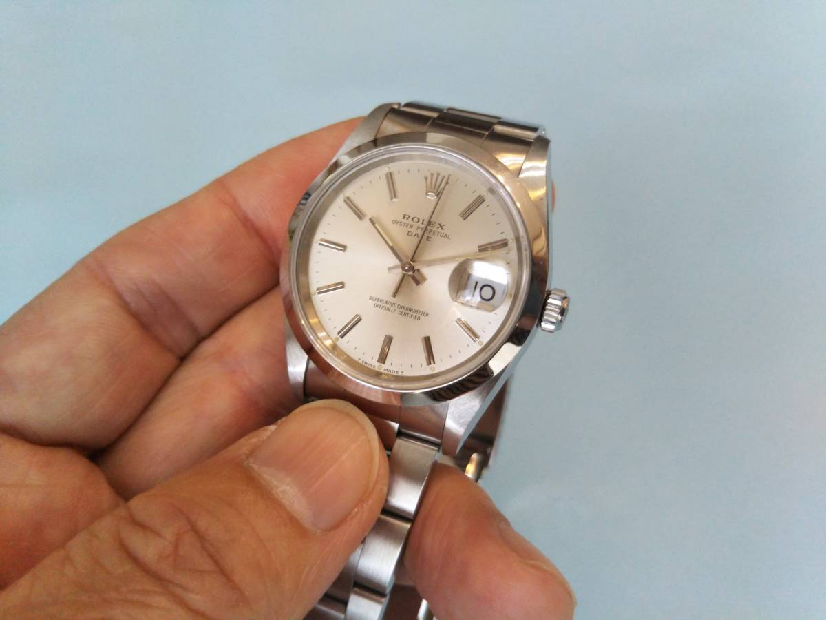 ☆ ROLEX OYSTER PERPETUAL DATE ☆ 形式15200 中古_画像2