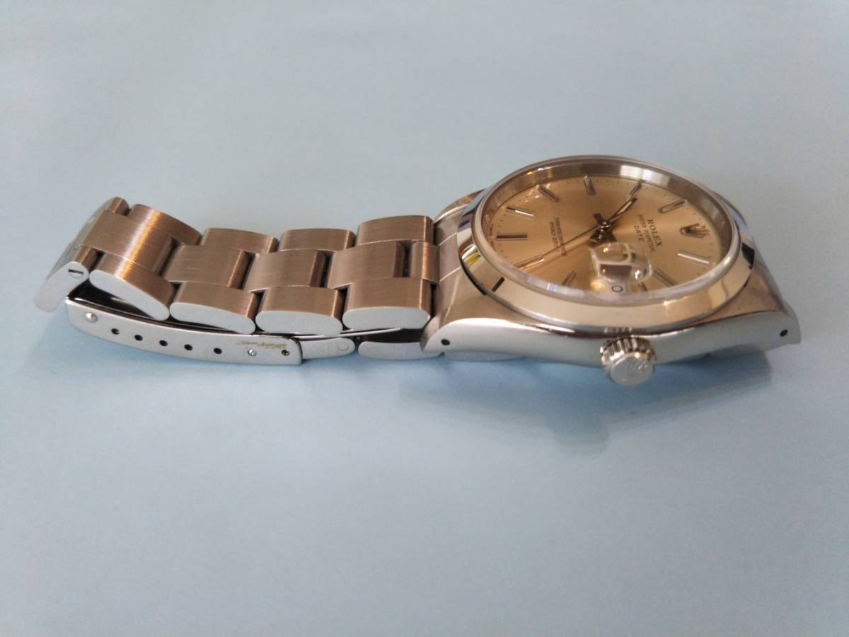 ☆ ROLEX OYSTER PERPETUAL DATE ☆ 形式15200 中古_画像6
