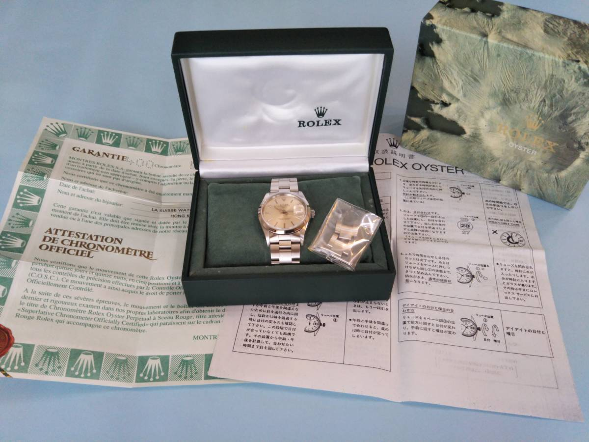 ☆ ROLEX OYSTER PERPETUAL DATE ☆ 形式15200 中古_画像7