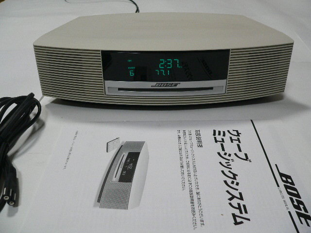 bose wave music system cd white operation excellent remote control rh yahoo aleado com Bose Multiple CD Player Bose Wave III CD Player